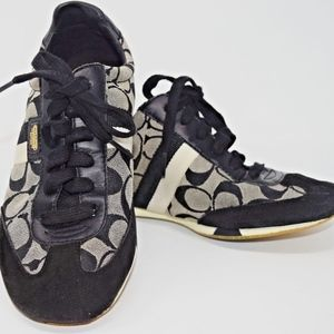"COACH Tennis Shoes ""JOSS"" Signature C Lace Up"